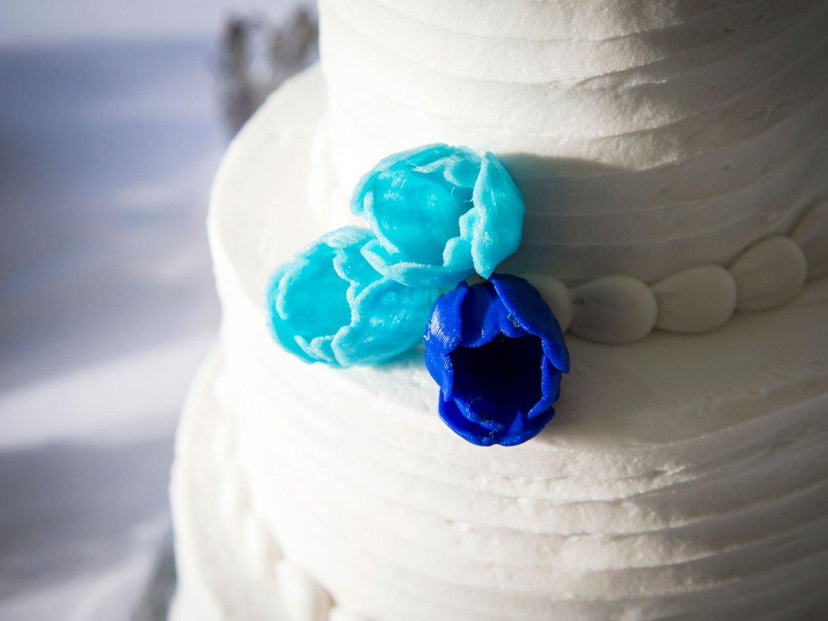 پرینت سه بعدی تزیینات کیک