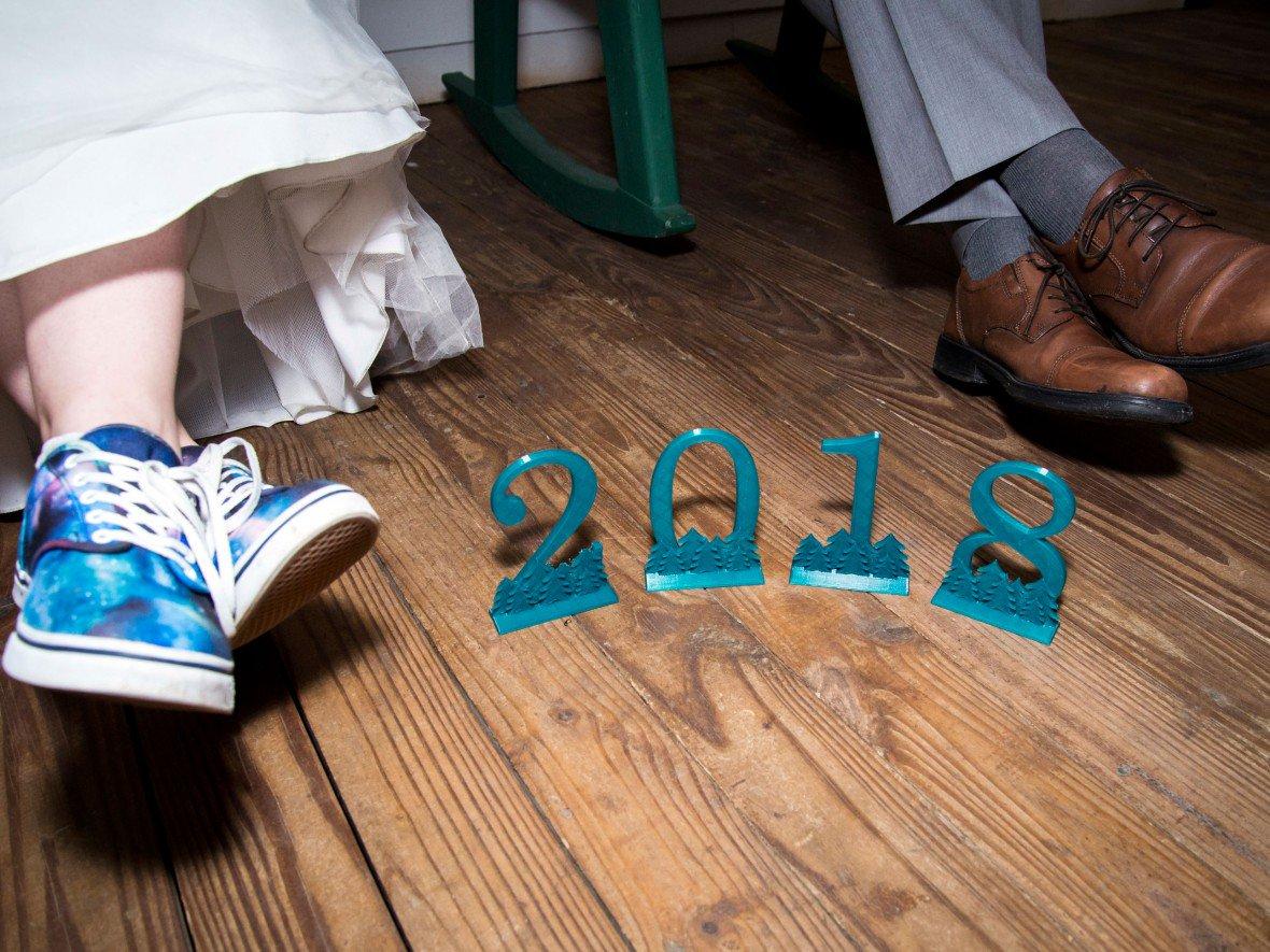 جشن عروسی و پرینت سه بعدی