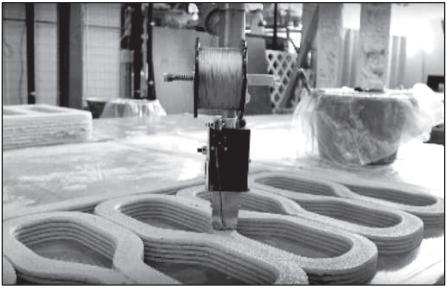 پرینت سه بعدی بتن برای ساخت پل