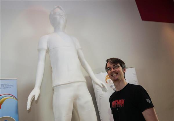 پرینت سه بعدی مجسمه به ارتفاع3.62 متر