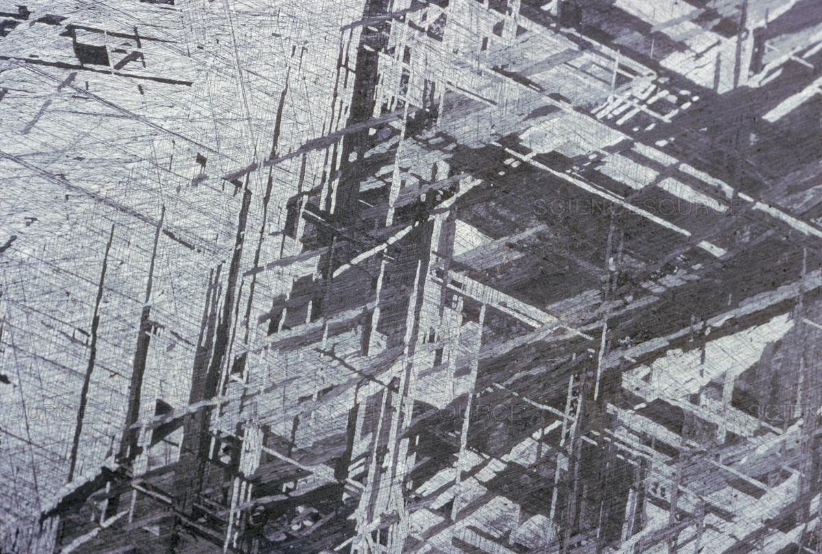 الگوی Widmanstätten در طراحی خودرو