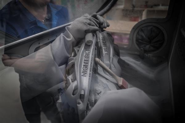 پرینت سه بعدی قطعهای از خودرو