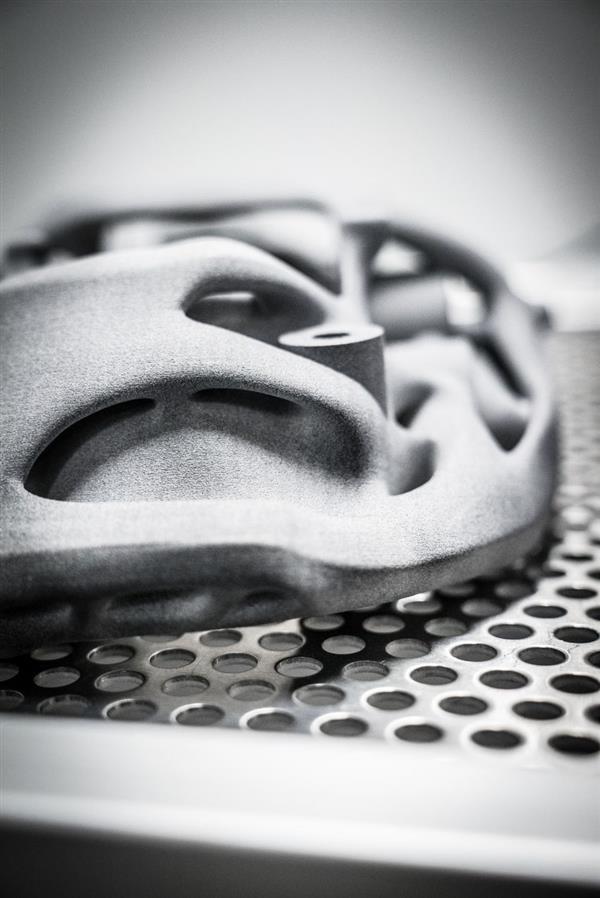 قطعه حاصل از پرینتر سه بعدی