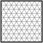 تراکم داخلی مثلثی