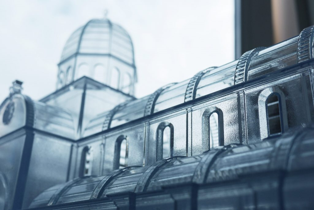 پرینتر سه بعدی و ماکت کاخ دیوکلسیان در شهر سیببیون