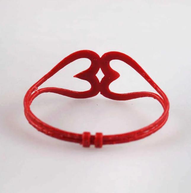 پرینتر سه بعدی و دستبند سادهی قلبی شکل