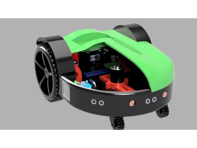پرینت سه بعدی ماشین چمن زنی