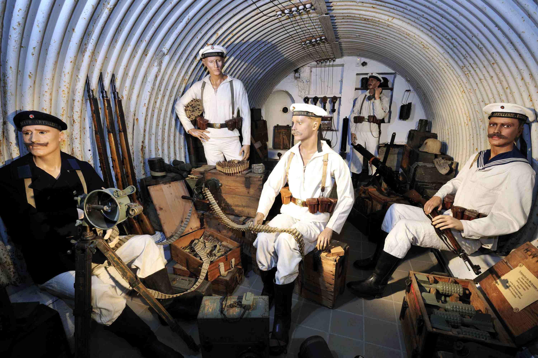 نمایی از Aachen Battery در موزه