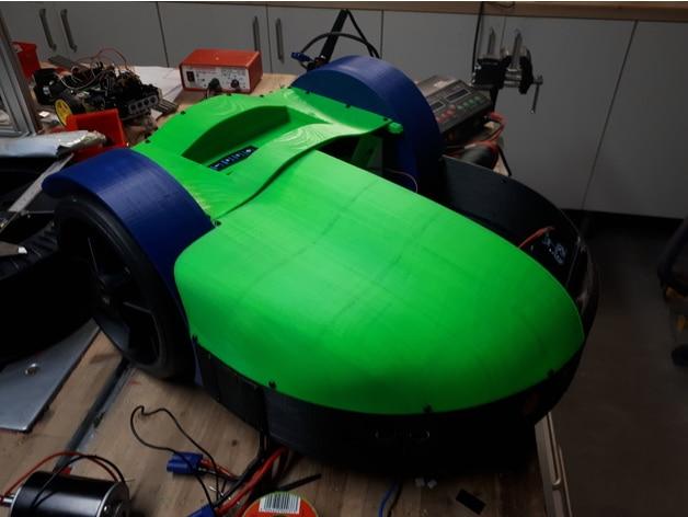 پرینتر سه بعدی و ماشین چمن زنی حاصل از 95% مواد پرینت شده