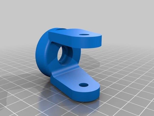 طراحی سه بعدی قطعه ای از ماشین چمن زنی