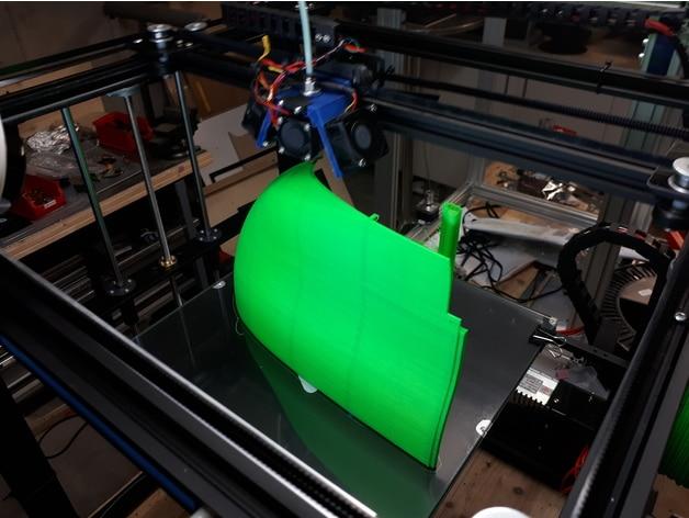 پرینت سه بعدی قطعه ای از ماشین چمن زنی