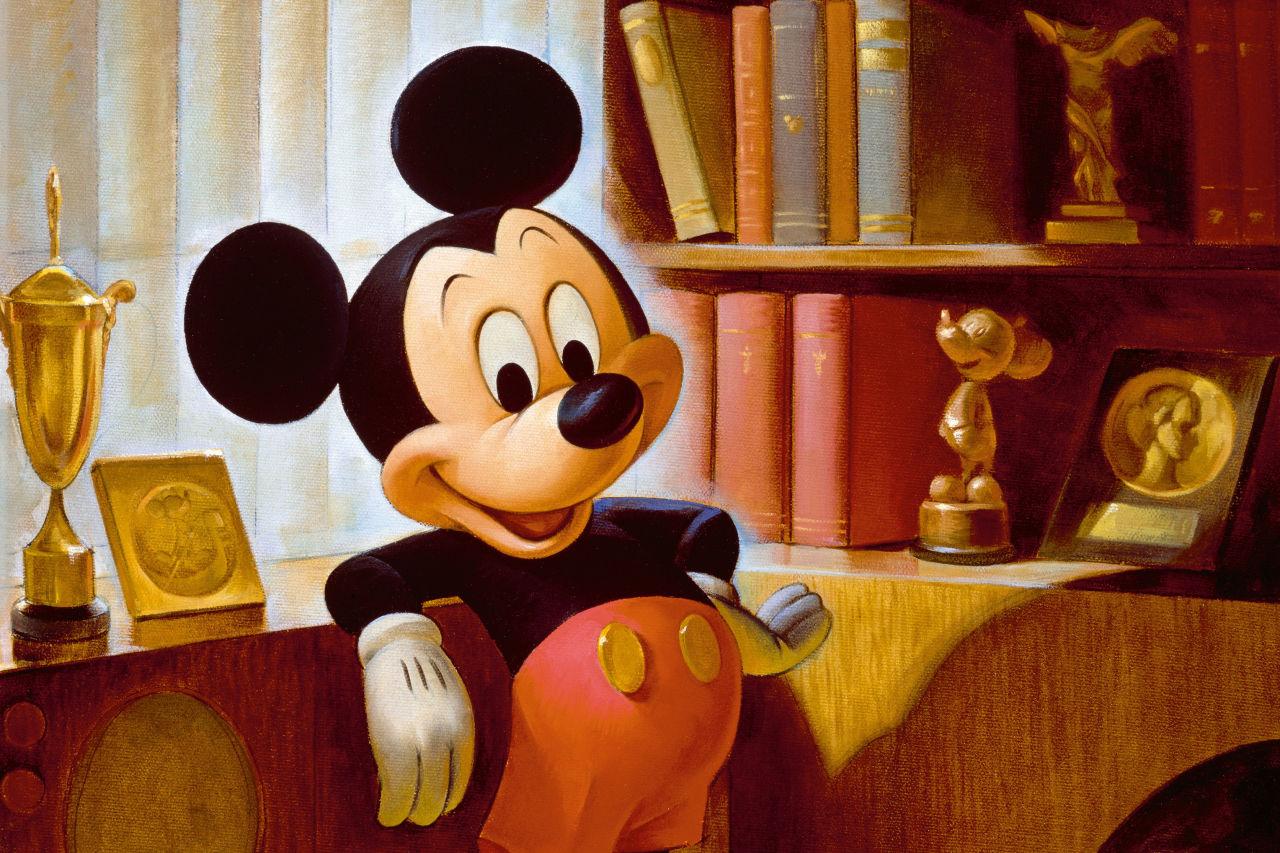 میکی ماوس، یکی از محبوبترین شخصیتهای کارتونی جهان