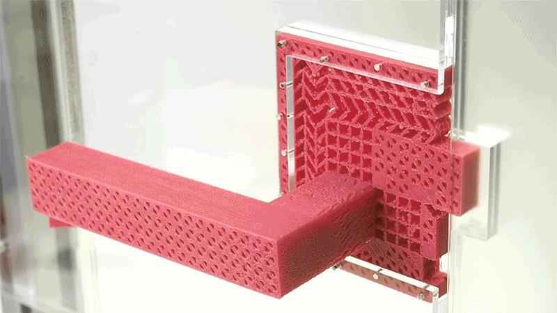 پرینت سه بعدی دستگیرهی در