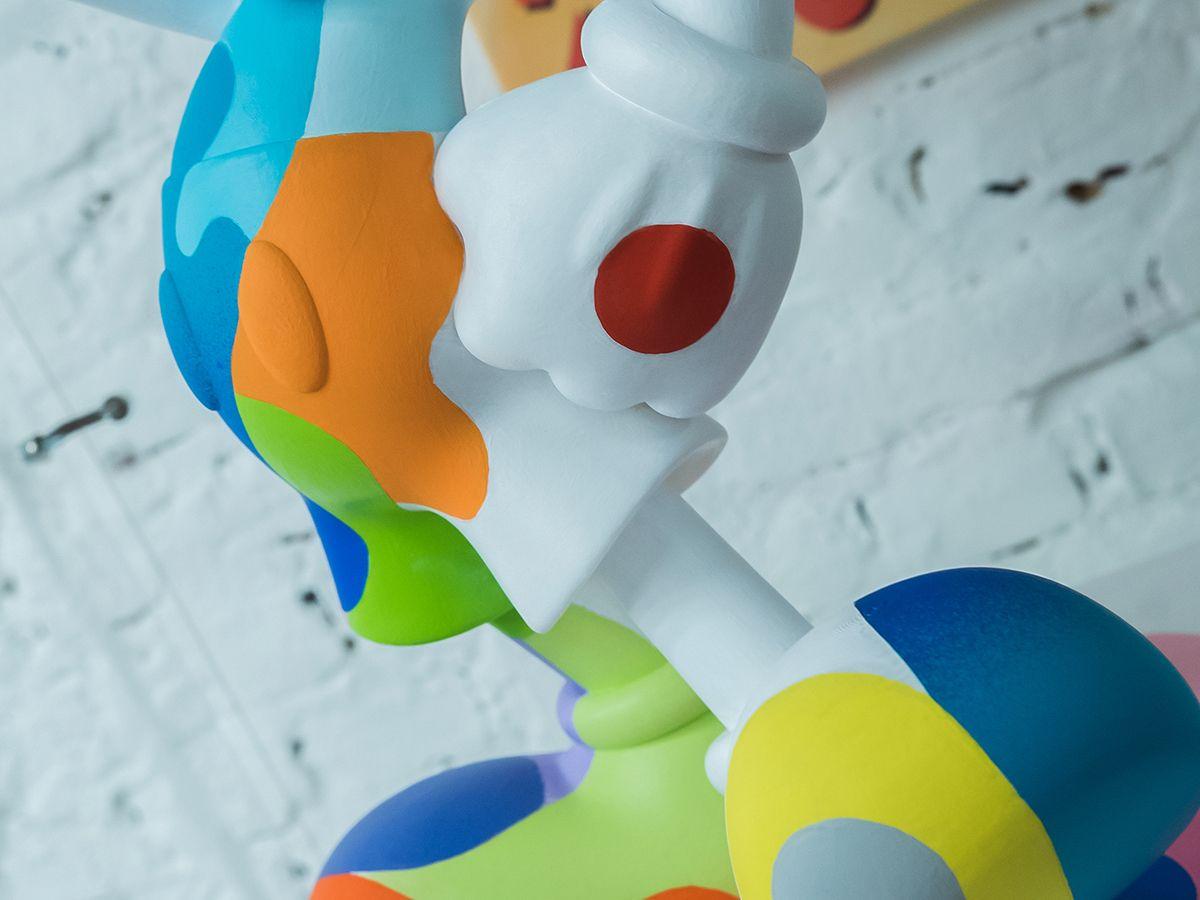 پرینتر سه بعدی و مجسمهی میکی ماوس با کیفیت بالا