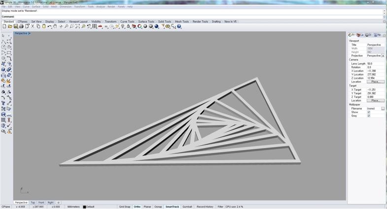طراحی سه بعدی طرح دوم