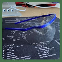 عینک covid-19